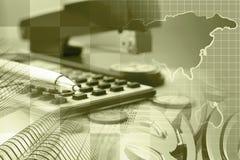 взгляд кредита конца карточки предпосылки финансовохозяйственный поднимающий вверх Стоковые Фотографии RF