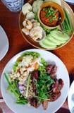泰国地方食物 库存照片