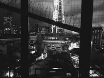 塔在晚上 免版税图库摄影