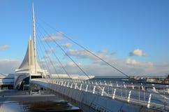 Μουσείο Τέχνης του Μιλγουώκι Στοκ Εικόνες