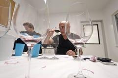 葡萄酒商人 库存照片