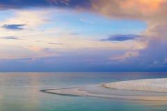 восход солнца тропический Стоковые Изображения