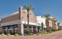 室外的购物中心 图库摄影
