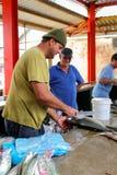 鱼市在维多利亚,塞舌尔群岛 免版税图库摄影