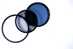 摄影的滤光透镜 免版税库存照片