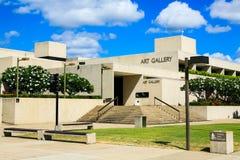 昆士兰美术画廊,澳大利亚 库存图片