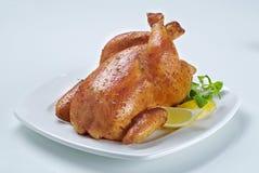 鸡烘烤 免版税库存图片