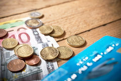 Χρήματα ευρώ Στοκ εικόνα με δικαίωμα ελεύθερης χρήσης