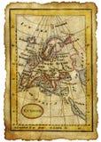Παλαιός χάρτης Στοκ εικόνα με δικαίωμα ελεύθερης χρήσης