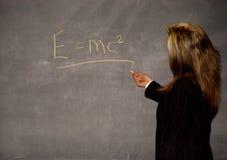 женский учитель Стоковая Фотография