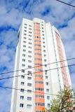 生存房子在莫斯科 免版税图库摄影