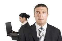 бизнесмен серьезный Стоковое фото RF