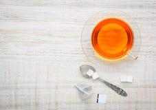 Τσάι φρούτων με το διάστημα αντιγράφων Στοκ Φωτογραφίες