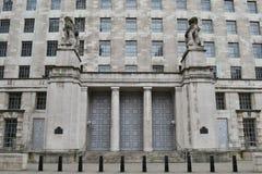国防部伦敦白厅 库存照片
