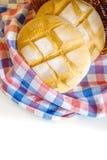 Στρογγυλές φραντζόλες του ψωμιού Στοκ εικόνα με δικαίωμα ελεύθερης χρήσης