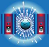 κεντρικοί υπολογιστές Στοκ εικόνα με δικαίωμα ελεύθερης χρήσης