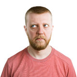 Άτομο που φαίνεται μάτια μακρυά από τον Στοκ Εικόνες