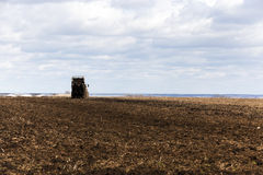Поле удобрения аграрное Стоковые Фото