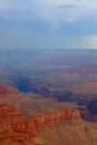 Известный гранд-каньон перед тяжелым штормом Стоковое Изображение