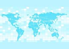 επιχειρηματικό πεδίο ανασκόπησης παγκόσμιο Στοκ Εικόνα