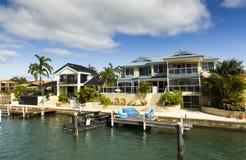 澳洲居住现代 免版税图库摄影