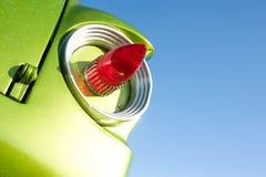 减速火箭的尾灯 免版税库存照片