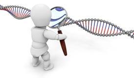 基因研究 免版税库存照片