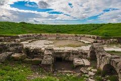 αρχαία πέτρα καταστροφών της Ιταλίας Πομπηία Στοκ φωτογραφία με δικαίωμα ελεύθερης χρήσης
