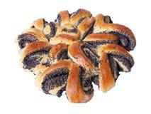 маковые семенена хлебца Стоковое Фото