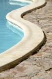 游泳池细节 免版税库存图片