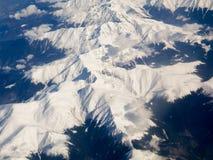 Карпаты - вид с воздуха Стоковые Изображения RF