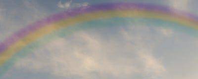Радуга в небе Стоковое Изображение