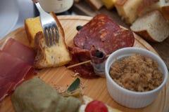 Сербская традиционная закуска Стоковая Фотография RF