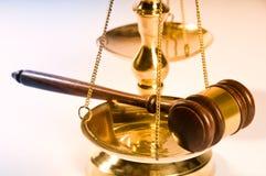法律顺序 免版税库存图片