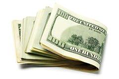 美国货币笔记 免版税库存照片