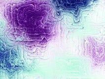 创造性的设计的分数维艺术品 免版税库存图片
