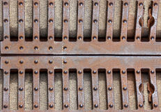 Πύλη επεξεργασμένου σιδήρου, πόρτα, φράκτης, παράθυρο, σχάρα, σχέδιο περίφραξης εκλεκτής ποιότητας σύνολο συνόρων διακοσμητικός φ Στοκ εικόνα με δικαίωμα ελεύθερης χρήσης