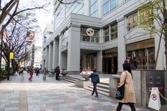 新宿购物中心 免版税图库摄影
