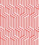 Άνευ ραφής διανυσματικό γεωμετρικό σχέδιο Στοκ Φωτογραφίες