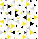 Άνευ ραφής γεωμετρικό σχέδιο τριγώνων Στοκ εικόνα με δικαίωμα ελεύθερης χρήσης