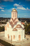 老俄国式教会 库存图片