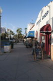 科罗纳多街在圣地亚哥 免版税库存图片