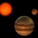 ηλιακό σύστημα Στοκ Φωτογραφία
