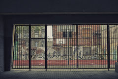 Δικαστήριο οδών καλαθοσφαίρισης Στοκ Εικόνα