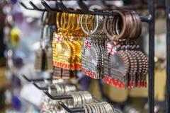 伦敦钥匙圈纪念品 免版税图库摄影