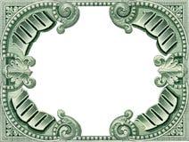 货币框架 免版税库存照片