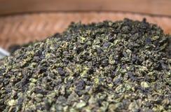 сухой зеленый чай Стоковое фото RF