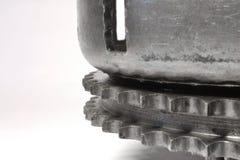 Шестерня на белизне Стоковая Фотография RF