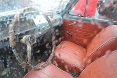 Ретро русский автомобиль Стоковая Фотография