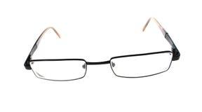 聪明的玻璃眼镜 免版税图库摄影